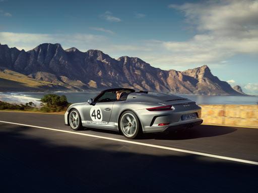 Hommage an einen Traum. Der neue 911 Speedster.