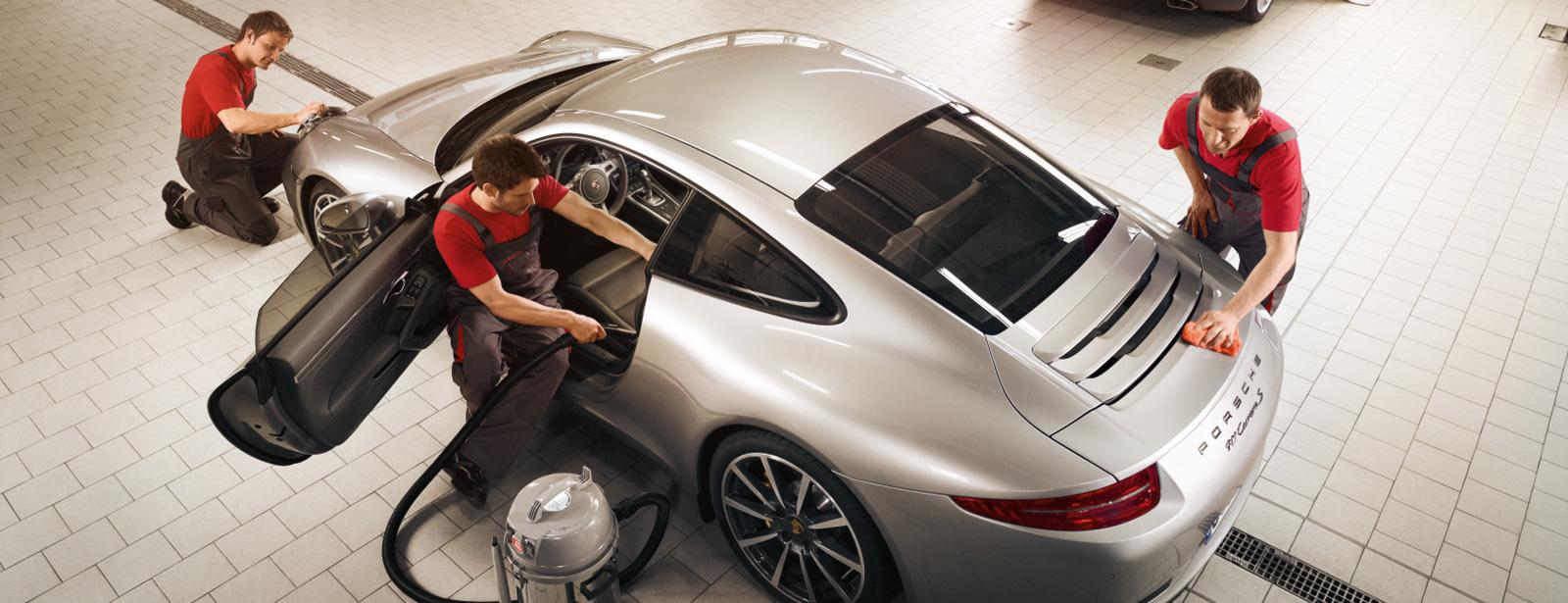 Porsche Car Refreshment